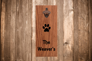 Personalized Wall Bottle Opener
