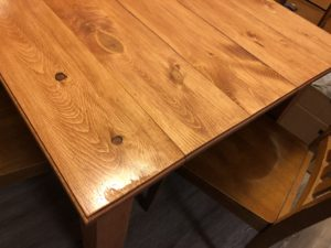 Custom Dining Room Table (4×4 Legs) (Routed Edges)