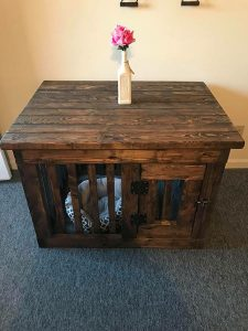 Single Dog Crate/Kennel Furniture