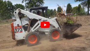 Me Doing Some Work With A Bobcat Skid Loader