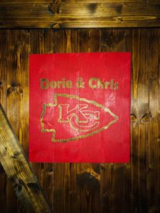Red Customized Sports Wood Sign, sports sign, Color Sports Art Sign, Football Art, Baseball Art, Basketball Art, Soccer art, Kids art, Man Cave Art