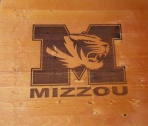 Sports Sign Wood Sign Personalized Wooden Plaque Home Decor sign for him, man cave wood sign for her, man cave, sports decor, home decor, Mizzou, Missouri