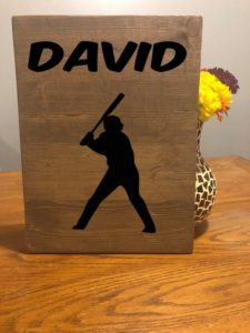 Baseball Sign, MLB decor, Baseball decor, Baseball Lover, Baseball Art, Baseball player, Custom Baseball, Sports Mom, Baseball Gifts
