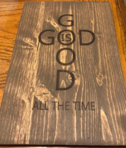 God Is Good Wood Sign, Christian Home Decor, Wood Sign, Bible Verse Sign, Christian Signs, Religious Sign, Christian Wall Art, Christian Gifts, Prayer
