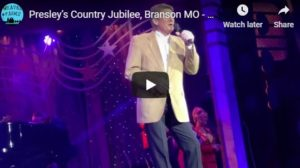 Presley's Country Jubilee, Branson MO – 2018 Christmas Show