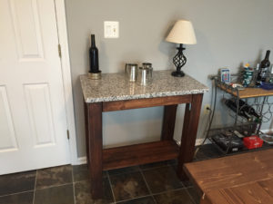 Kitchen Island With Shelf