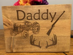 Daddy Sign – Great Fathers Day Gift