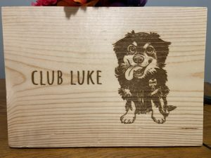 Club Sign – Dog Silhouette Sign